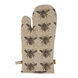 Honey Bee Single Oven Glove set of 2 Charcoal