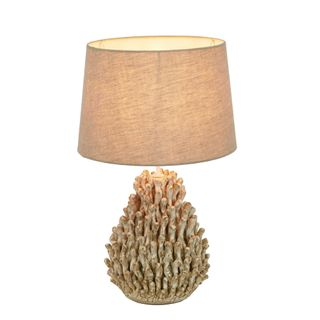 Kariba Anenome Ceramic Table Lamp Base White