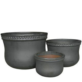 Patar Planter Set of 3 Black
