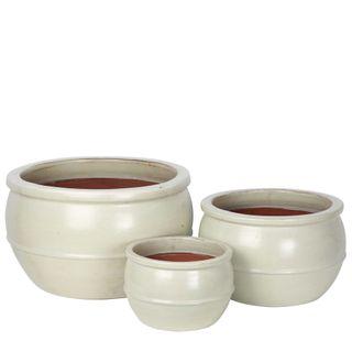 Ruen Planter Set of 3 White