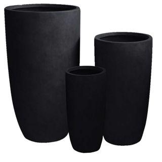 Sashe Planter Set of 3 Black