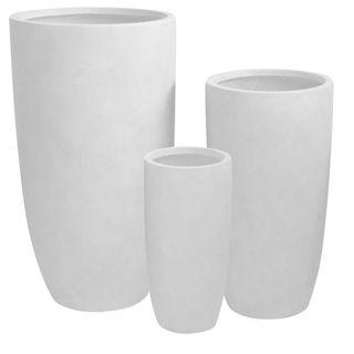 Sashe Planter Set of 3 White