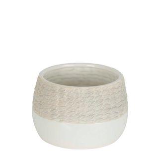 Rope Ceramic Pot Short