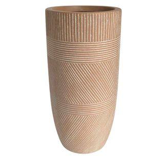 Vetro Terra Ridged Pot Large