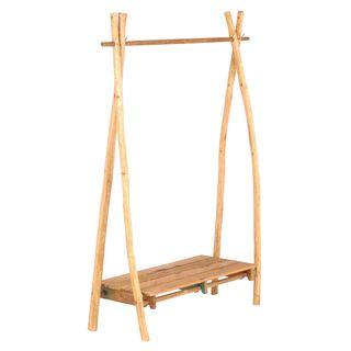 Mishal Wooden Hanging Rail Natural