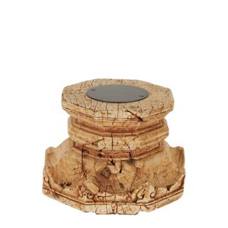 Grello Wooden Base Candle Stand