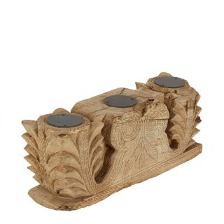 South Wooden Candle Stand