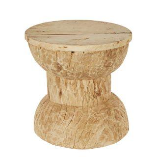 Okhali Wooden Side Table