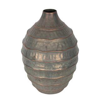 Vola Distressed Iron Vase