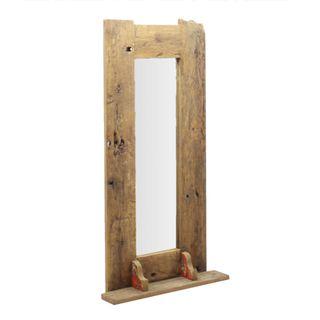 Dawson Wooden Mirror 55x120cm Natural