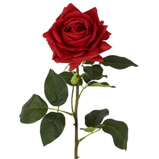 Belle Real Touch Rose Stem Red