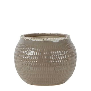 Montreal Distressed Pot Taupe