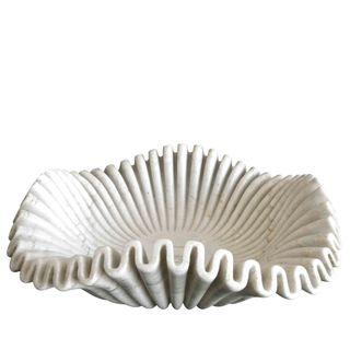 Lehriya Marble Bowl Large White