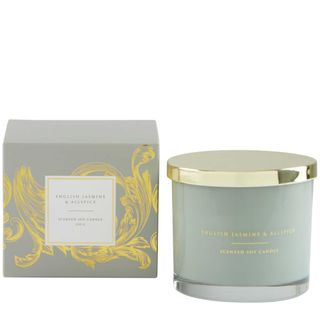 PRE-ORDER English Jasmine & Allspice Soy Candle 250g