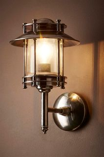 Turner Outdoor Wall Light Antique Silver