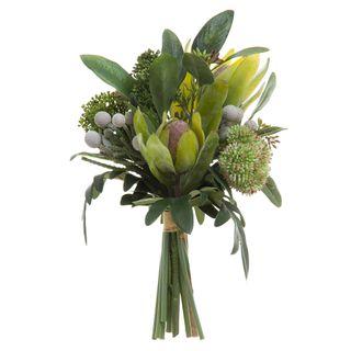 Eucalyptus Berry Bouquet 30cm Green