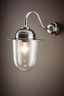 Stanmore Outdoor Wall Light Antique Silver