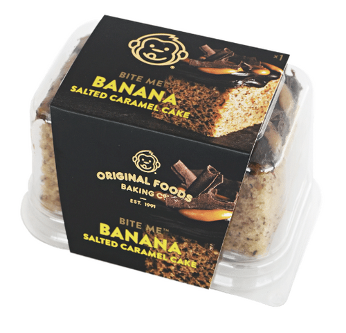 GOOFY BANANA SALTED CARAMEL SINGLE SERVE CAKE (14CTN)
