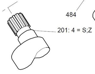 25836 - HMC080 - S Shaft
