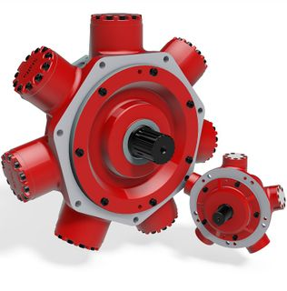 HMB-125-S3-S04-70 Staffa Motor