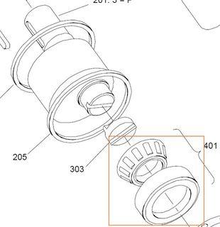 687521 HMB010 - Rear Bearing