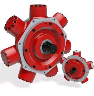 HMC 080-S-90-10-FM3-CP18-70 Staffa Motor