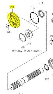 K3VL112/140 - Shaft Seal Cover Standard