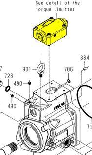 K3VL112/140 High Torque Limit Controller