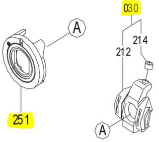 K3VL112 - Swash Kit LH