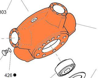 101-001 HMB100 - Motor Case