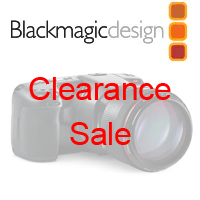 Blackmagic Design Clearance Items