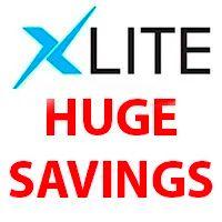 Xlite Huge Savings