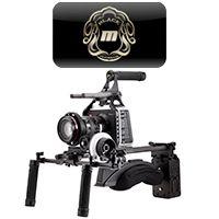 Redrock Micro UltraCage Black for Blackmagic Camera's