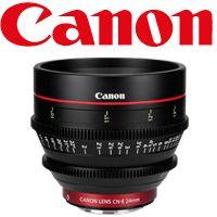 Canon Cinema EOS Lenses