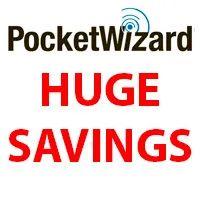 PocketWizard Huge Savings