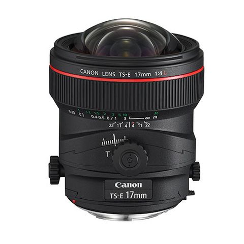 Canon TS-E 17mm f4 L Lens