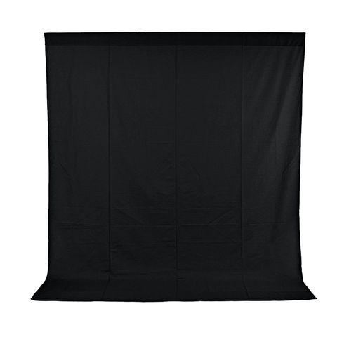 Xlite Muslin Black Background 3x3m Inc Bag