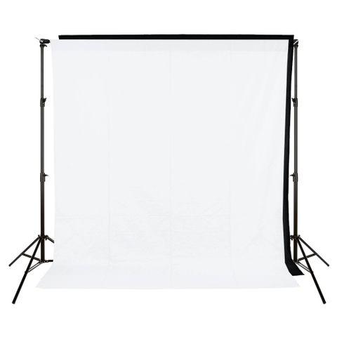 Xlite Standard Backround Kit + White / Black 3x3m Muslin