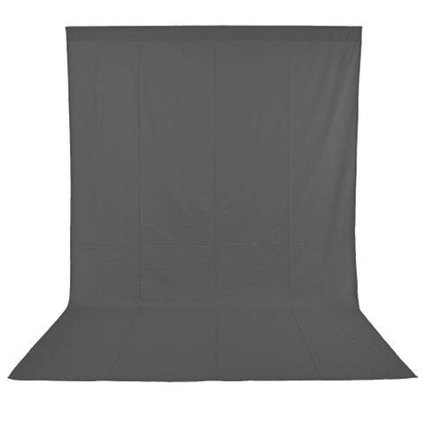 Xlite Muslin Grey Background 3x6m Inc Bag