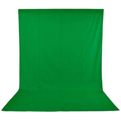 Xlite Muslin Chromakey Green Background 3x6m Inc Bag