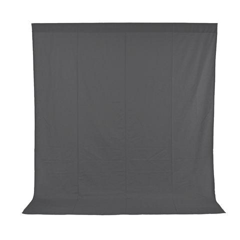 Xlite Muslin Grey Background 3x3m Inc Bag