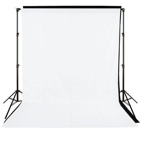 Xlite Standard Backround Kit + White / Black 3x6m Muslin