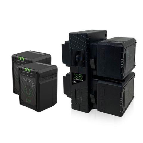 Core SWX 4 X Nano Micro 150 V-mount + GP-X4S Bundle