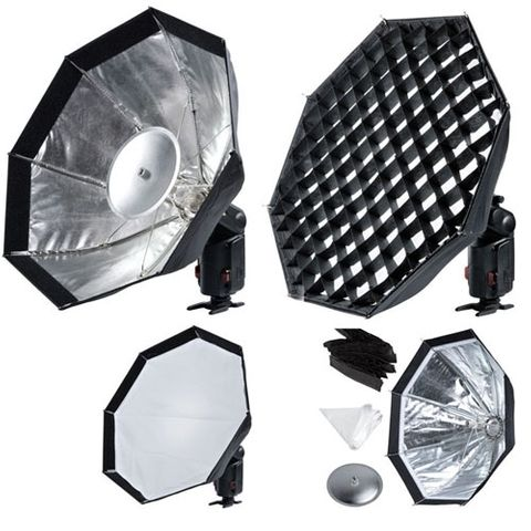 Godox AD200/360 Umbrella Style Grided Softbox 48cm