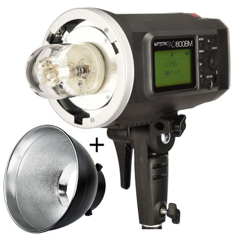 Godox AD600BM Manual Flash with Lithium Ion Battery Inc Reflector