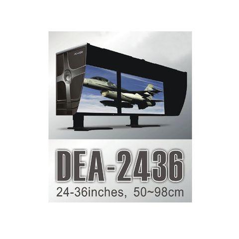 Pchood DEA-2436 Dual Monitor Hood