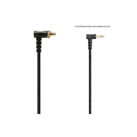 Pocketwizard PC5N Locking PC Sync Coiled Cable 60cm-1.5m