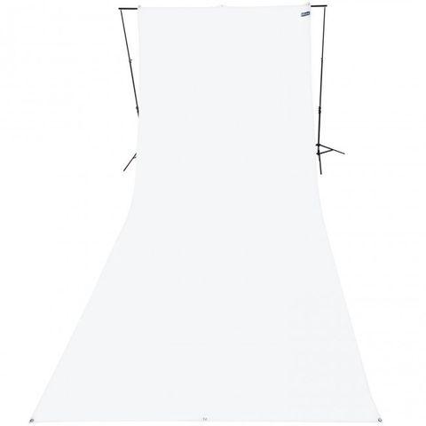 Westcott White Background 2.75 x 6m Wrinkle Resistant
