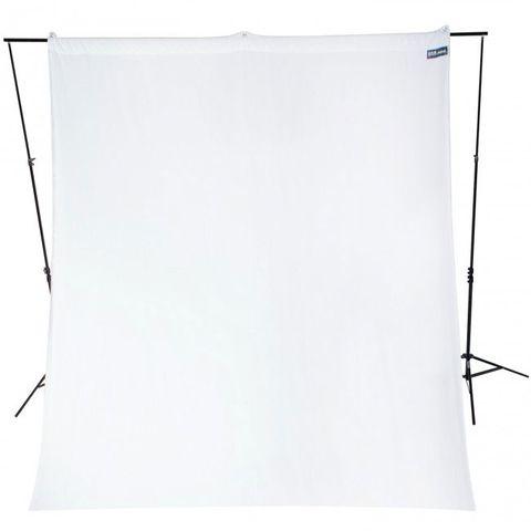 Westcott White Background 2.75 x 3m Wrinkle Resistant