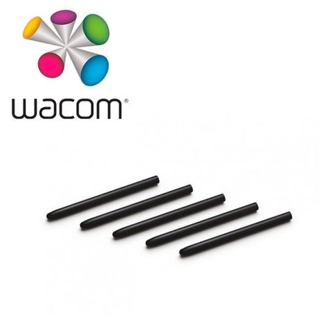 Wacom Replacement Nibs Standard Black 5 Pk